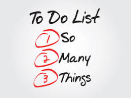 to do list 1